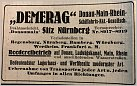 Klicke auf die Grafik für eine größere Ansicht  Name:Demerag Werbung 1919.jpg Hits:109 Größe:117,0 KB ID:847990