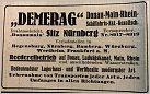Klicke auf die Grafik für eine größere Ansicht  Name:Demerag Werbung 1919.jpg Hits:106 Größe:117,0 KB ID:847990